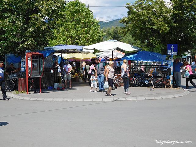 Рынок в Пироте