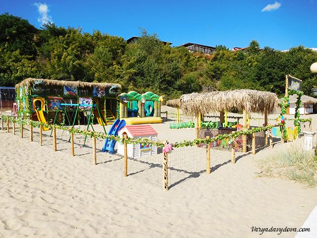 Новый пляж на Свети Влас