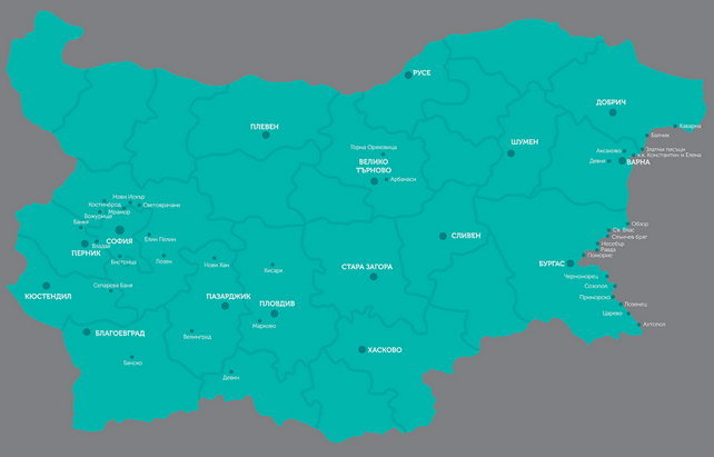 Карта покрытия Max Telecom