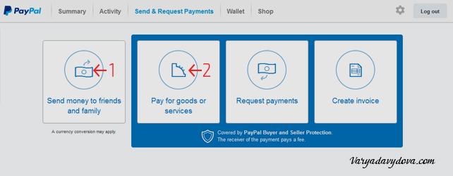 PayPal в Болгарии. Перевод