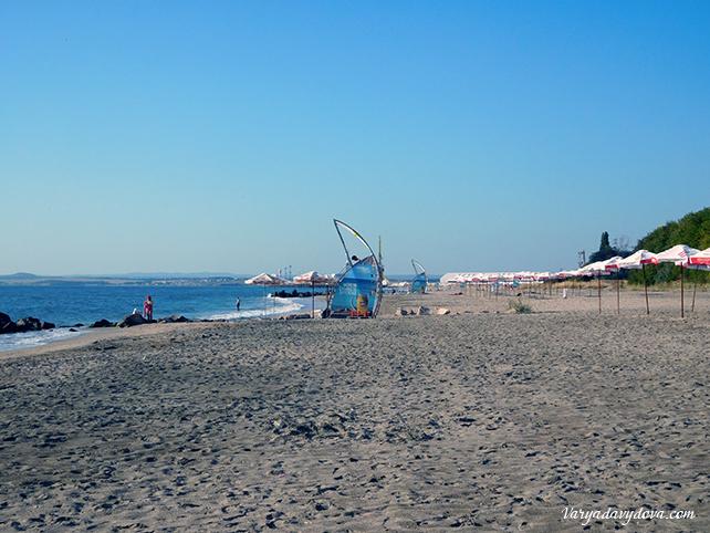 Море в Бургасе