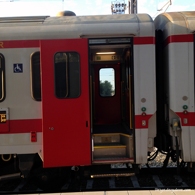 Поезда в Болгарии