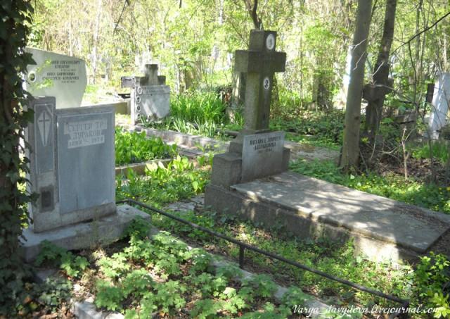 Русское кладбище в Софии