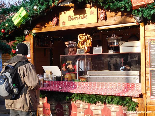 Рождественский базар в Софии