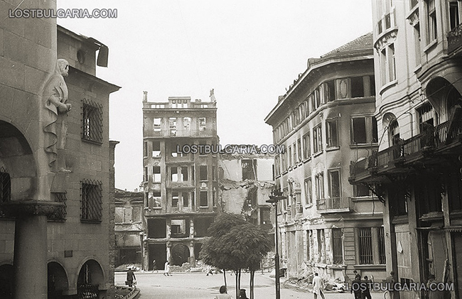 Бомбардировки в Софии