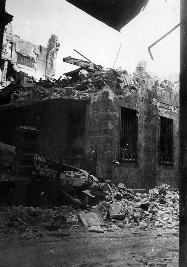 Бомбардировка Софии (Болгария) во время Второй мировой войны