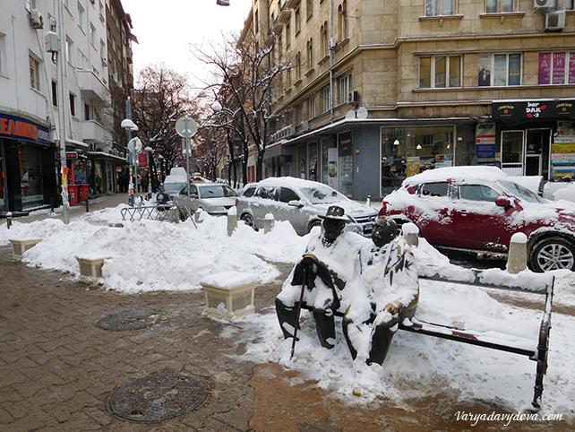 Морозы в Болгарии