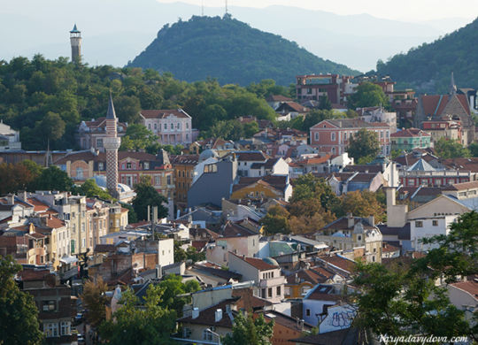 Пловдив. Старый и новый