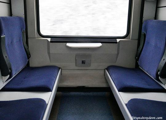 Турецкий поезд из Софии в Стамбул