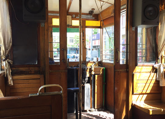 Ретро трамвай в Софии