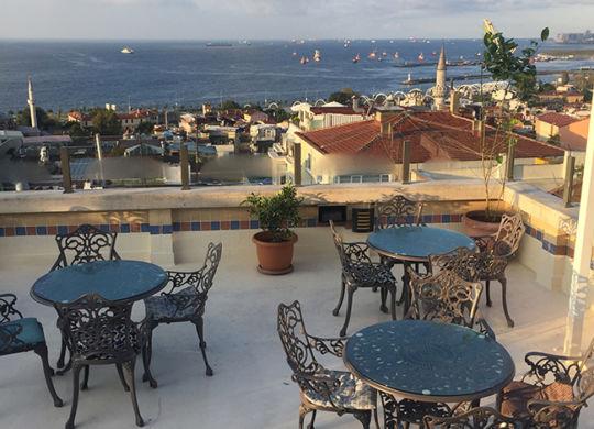 Отель рядом с Голубой мечетью. Стамбул
