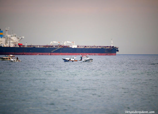 Мраморное море. Набережная