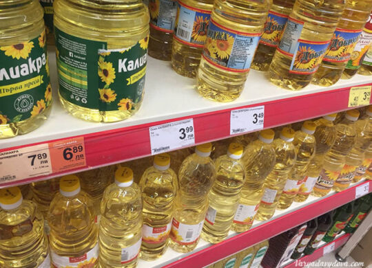 Цены в Болгарии 2021. Инфляция