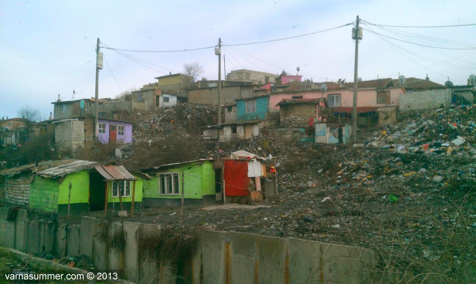 Цыганский квартал в Варне - Максуда