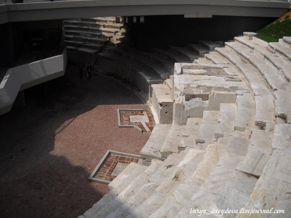 Античный одеон в Пловдиве