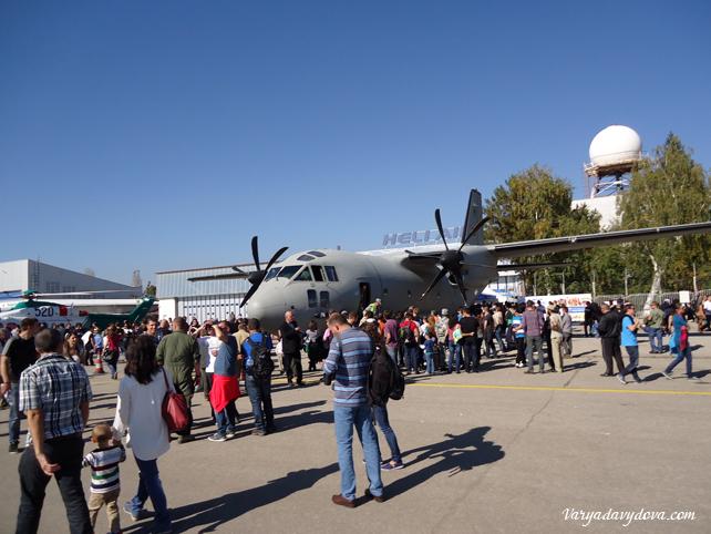 102 года болгарской авиации. Авиашоу в Софии