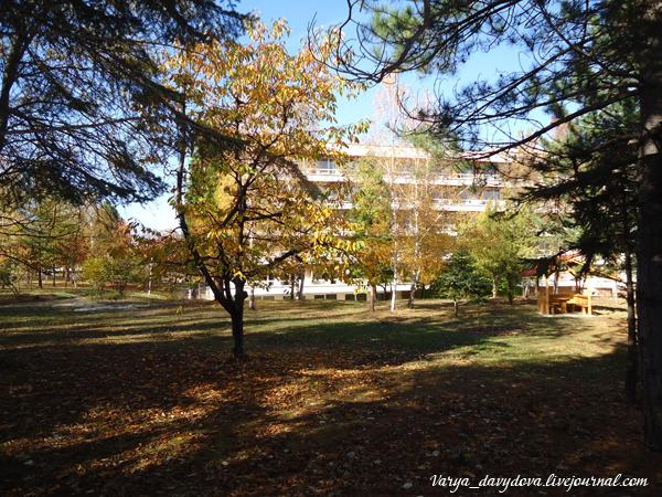 Бальнеологический курорт Банкя в Болгарии