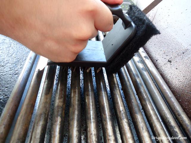 Былгарска скара - чем чистить