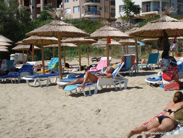 Центральный пляж Святого Власа