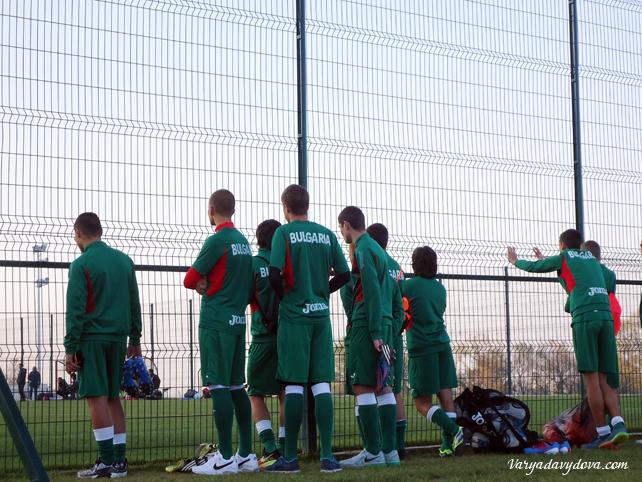 Футбол в Болгарии