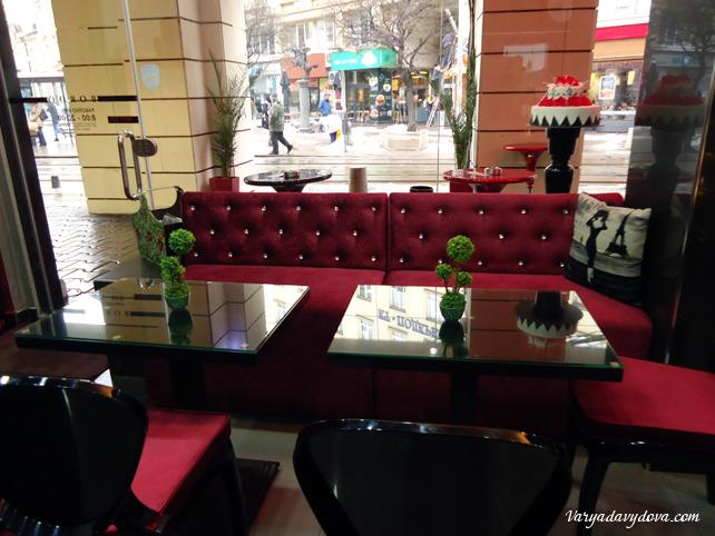 Кафе в Софии