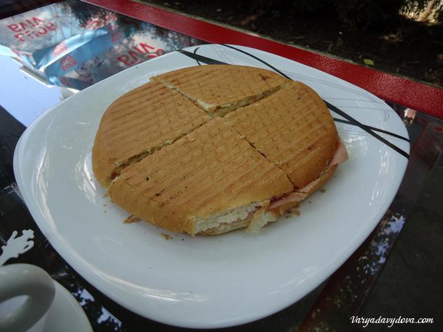 Сербские сладости. Кафе в Нишка Баня