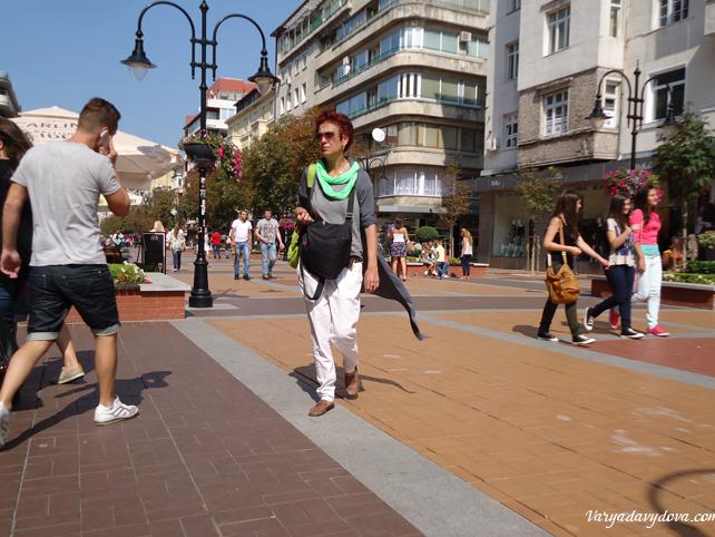 Как выглядят болгары. София