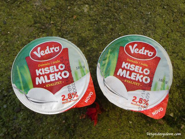 Кисело млеко. Сербский йогурт