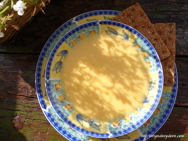 """Рецепт """"Крем-суп из тыквы"""""""