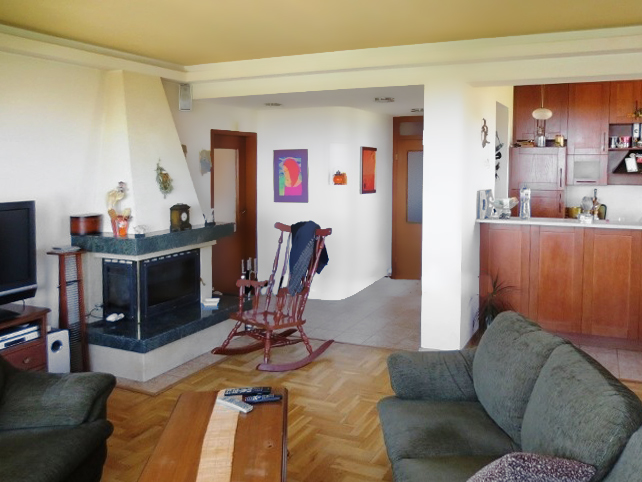 Квартира с камином в квартале Иван Вазов (София, Болгария)