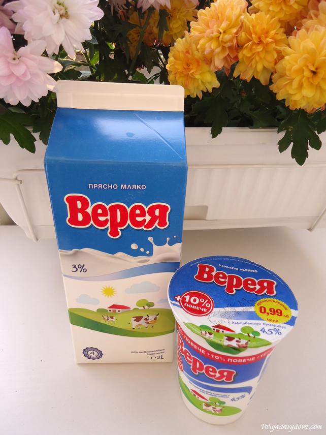 Кисело мляко - болгарский йогурт