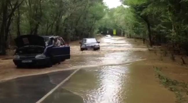 Наводнение в Болгарии в сентябре (06.09.2014) - Бургас - Созополь