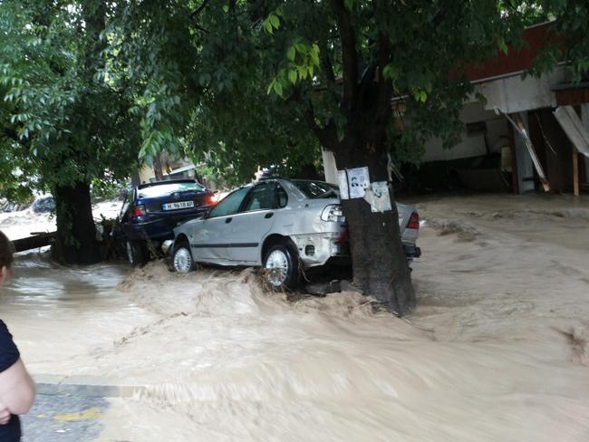 Наводнение в Болгарии. Варна