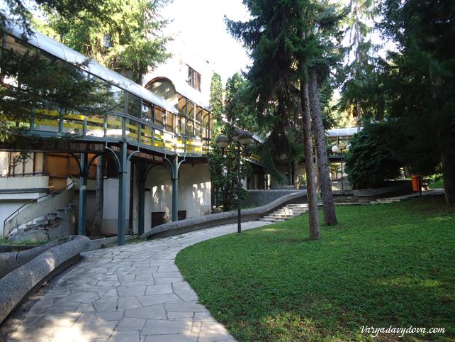 Сербский бальнеокурорт Нишка Баня
