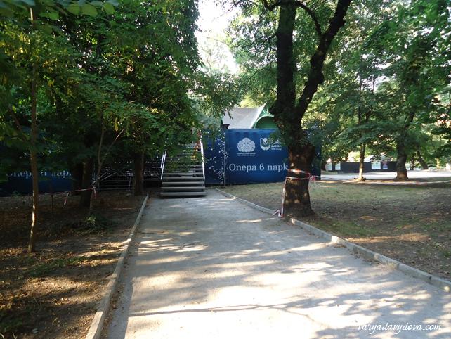 Балет в парке