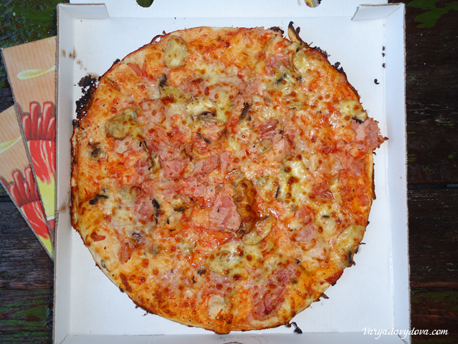 Самая вкусная пицца в Софии