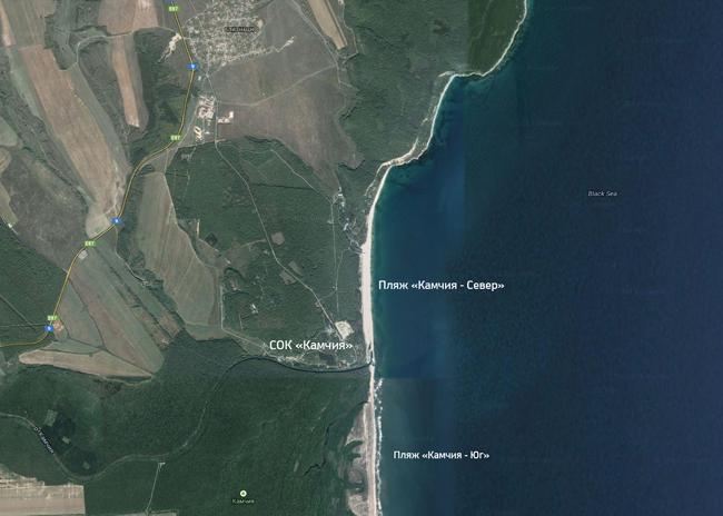 Пляж Камчия в Болгарии
