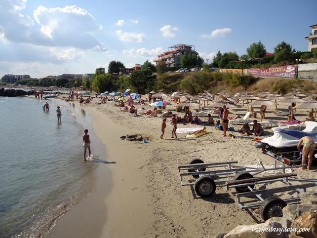 Пляж Марина Диневи