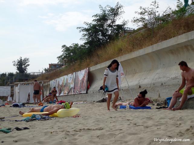 Русская кабинки на пляже фото 380-536