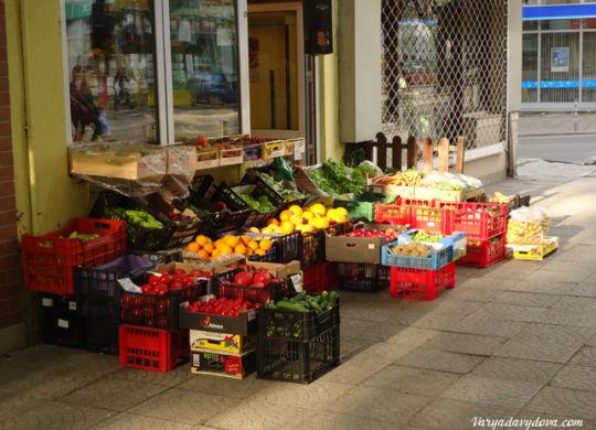 Что едят русские в Болгарии
