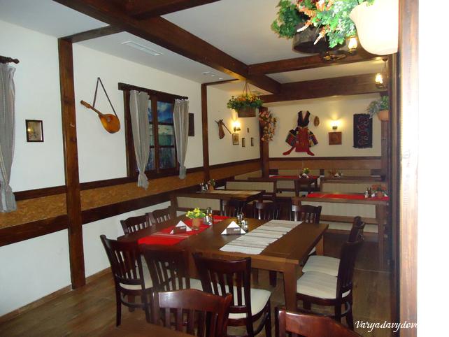 Ресторан Булгария в Банско