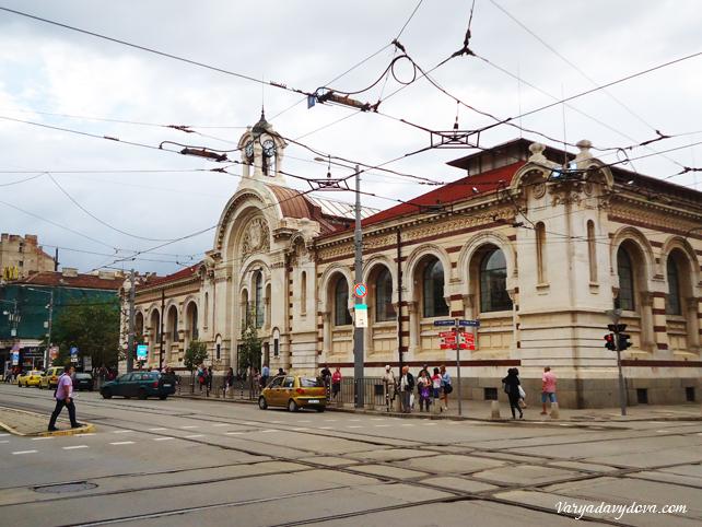 София.Центральный рынок Халите