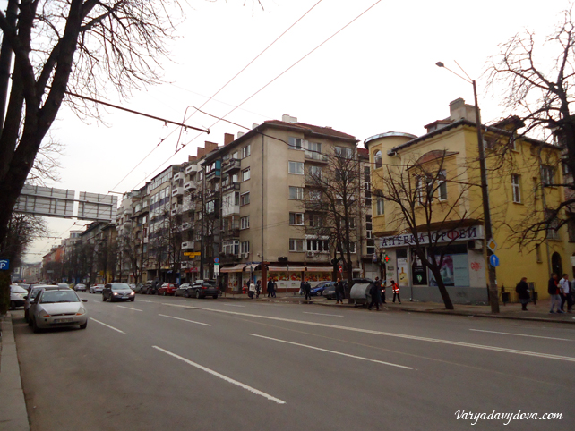 София, квартал Центр. Юго-западная часть