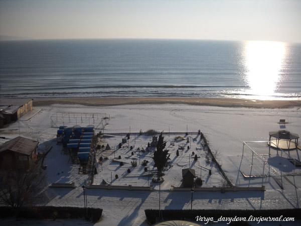 Солнечный Берег зимой