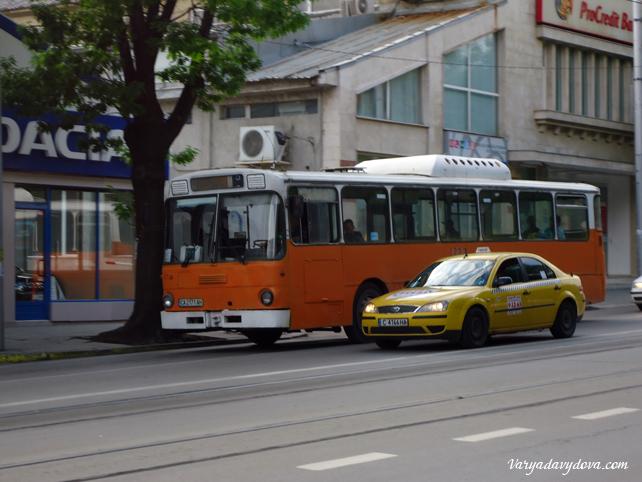 Цены в Болгарии на транспорт