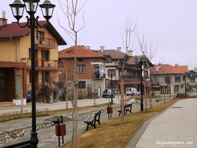 Новая пешеходка в Банско