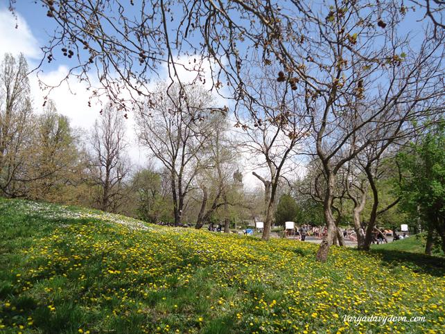Весна в Софии.Фото